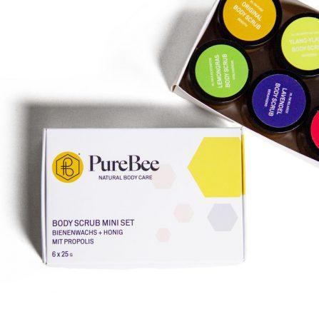 PureBee Body Scrub Mini Set