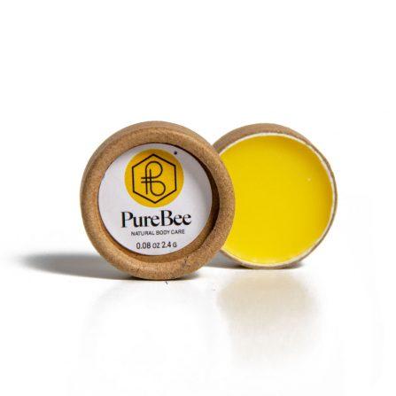 PureBee Lippenpflege im Natur Tiegel