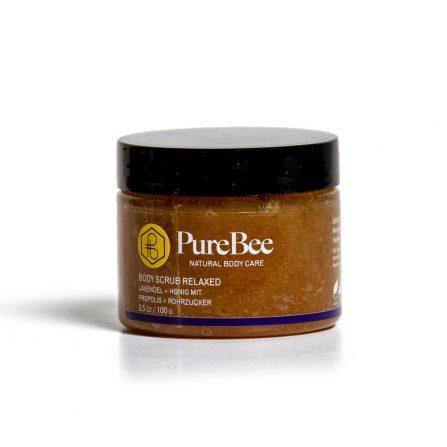 PureBee Body Scrub Lavendel
